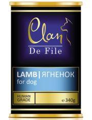 De File консервы для собак c ягненком