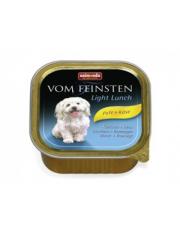 Vom Feinsten Light Lunch консервы для собак с индейкой и сыром облегченное меню