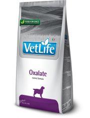 Vet Life Oxalate диетическое питание для собак для лечения и профилактики мочекаменной болезни