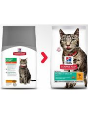 Science Plan Perfect Weight для кошек, склонных к набору веса с курицей