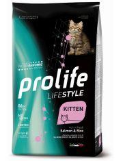 Lifestyle Kitten Salmon & Rice для котят с лососем и рисом