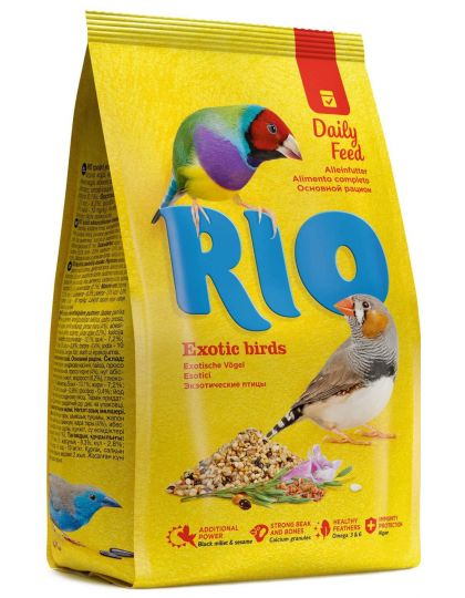 Корм для экзотических птиц