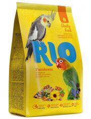 Parakeets корм для средних попугаев. основной рацион
