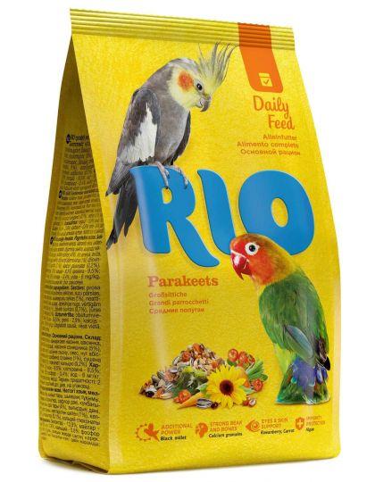 Parakeets корм для средних попугаев.
