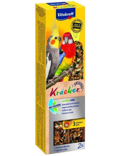 Kracker крекеры для средних попугаев при линьке