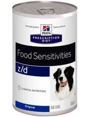 Prescription Diet Canine Z/D Ultra при пищевой аллергии