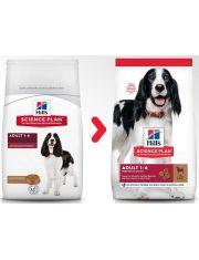 Science Plan Adult Medium для собак средних пород с ягненком