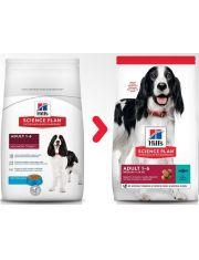 Science Plan Advanced Fitness для собак средних пород с тунцом и рисом