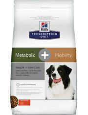 Prescription Diet Metabolic+Mobility Weight+Joint Care для собак для поддержания оптимального веса и здоровья суставов, с курицей