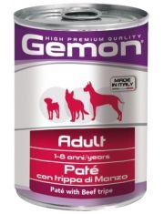 Adult паштет для взрослых собак говяжий рубец