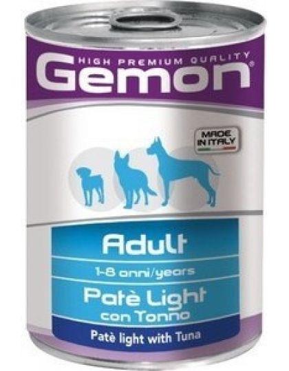 Adult Light низкокаллорийный паштет для взрослых собак, тунец
