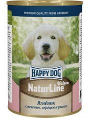 """""""Natur Line"""" для щенков ягненок с печенью, сердцем и рисом"""