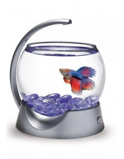 Круглый аквариум Tetra Betta Bowl для петушков с освещением