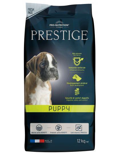 Prestige Puppy  полнорационный корм супер- премиум класса для щенков, беременных и кормящих сук всех пород