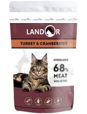 Sterilized полноценный сбалансированный влажный корм для стерилизованных взрослых кошек индейка с клюквой