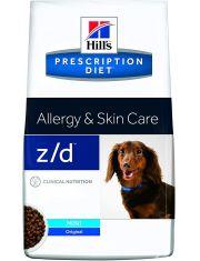 PRESCRIPTION DIET z/d Mini при пищевой аллергии для собак малых пород