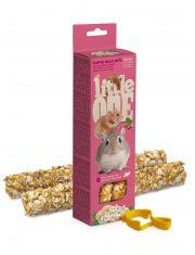 Палочки для хомяков, крыс, мышей и песчанок с воздушным рисом и орехами