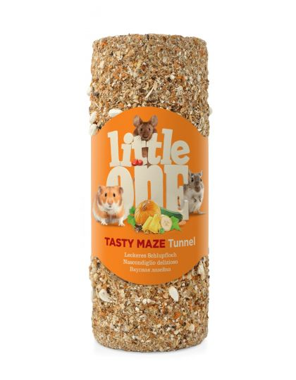 Вкусная лазейка туннель малый лакомство-игрушка для всех видов грызунов