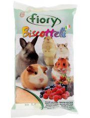 Бисквиты для грызунов Biscottelli с ягодами