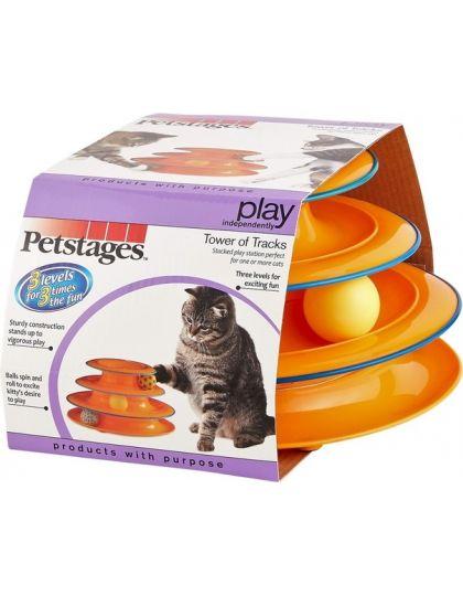 Игрушка для кошек Трек 3 этажа