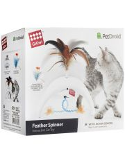 Электронная игрушка для кошек Feather Spinner