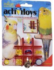 Activitoys The Wave игрушка для птиц веточка с зеркальцами, бусинками и колокольчиком