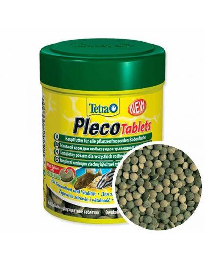 Tetra Pleco Tablets корм для любых видов травоядных донных рыб