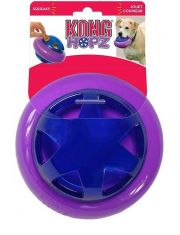 Игрушка для собак Hopz мяч для лакомств, с пищалкой