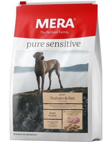 Mera Pure Sensitive Adult Truthahn&Reis корм для собак с индейкой и рисом