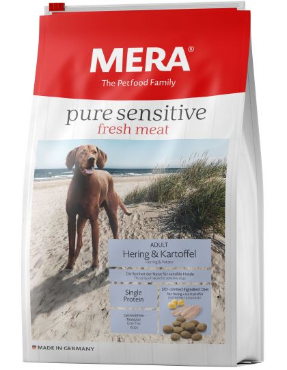 Mera Pure sensitive Fresh Meat Hering & Kartoffel Fresh Meat Сельдь и картофель