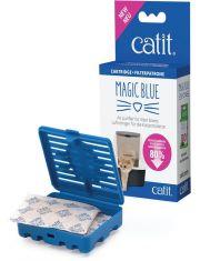 Иновационный фильтр для туалета magic blue, с картриджами