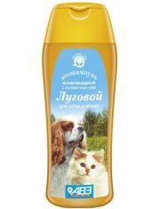 ЛУГОВОЙ шампунь инсектицидный для собак и кошек экстрактами лекарственных трав