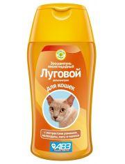 ЛУГОВОЙ шампунь инсектицидный от блох  для кошек