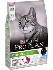 Sterilised для стерилизованных кошек и кастрированных котов с треской и форелью