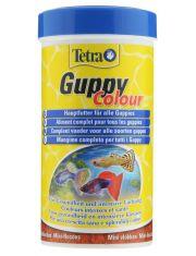 Guppy Colour корм для всех видов гуппи в виде мини-хлопьев