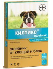 Ошейник Килтикс® от клещей и блох для собак средних пород