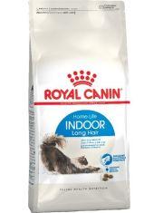 Indoor Long Hair 35 корм для домашних длинношерстных кошек