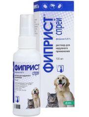Фиприст спрей против блох для кошек и собак 0,25 %