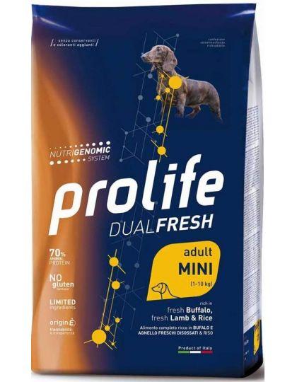 Dual Fresh Mini Adult с ягненком буйволом и рисом