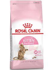 Kitten Sterilised корм для стерилизованных котят до 12 месяцев