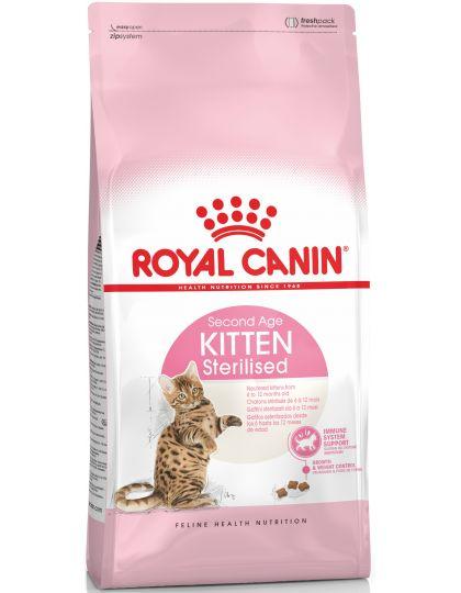 Kitten Sterilised корм для стерилизованных котят от 6 до 12 месяцев