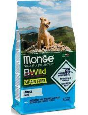 BWild GRAIN FREE Mini беззерновой корм из анчоуса с картофелем и горохом для взрослых собак мелких пород