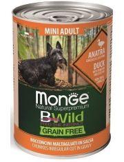 BWild GRAIN FREE Mini беззерновые консервы из утки с тыквой и кабачками для собак мелких пород