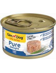 GimDog Pure Delight консервы для собак из тунца