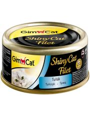 GimCat ShinyCat Filet консервы для кошек из тунца