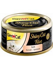 GimCat ShinyCat Filet консервы для кошек из цыпленка