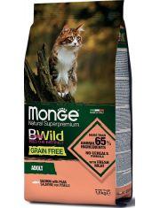 BWild GRAIN FREE беззерновой корм из лосося и гороха для взрослых кошек