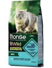 BWild GRAIN FREE беззерновой корм из трески, картофеля и чечевицы для взрослых кошек