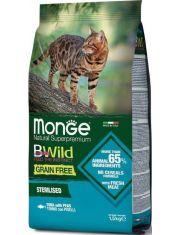 BWild GRAIN FREE беззерновой корм из тунца и гороха для стерилизованных кошек