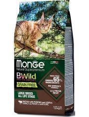 BWild GRAIN FREE беззерновой корм из мяса буйвола для крупных кошек всех возрастов